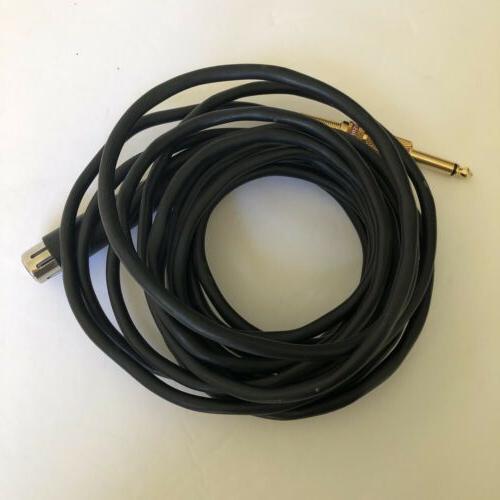 radio shack microphone cord with headphone jack