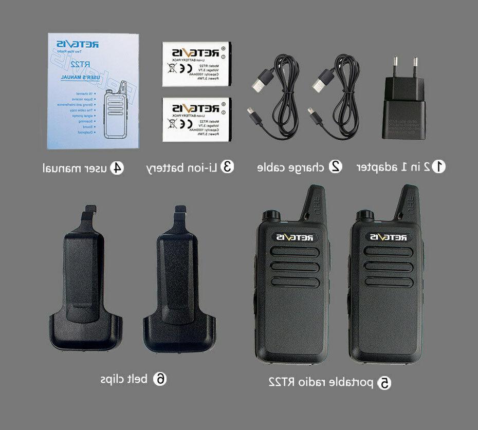 RT22 radio long range CTCSS/DCS Walkie Talkies