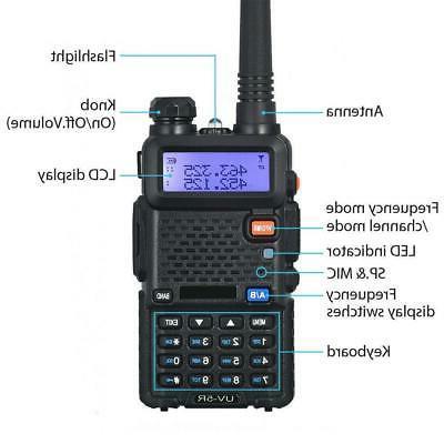 Baofeng UV-5R Two Radios VHF FM Ham Talkie