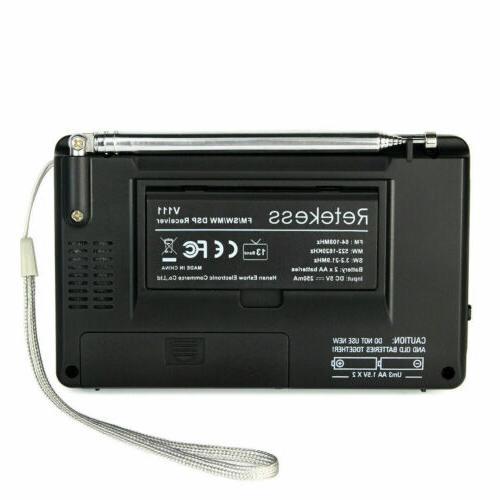 Portable Radio Stereo DSP Full Digital Alarm