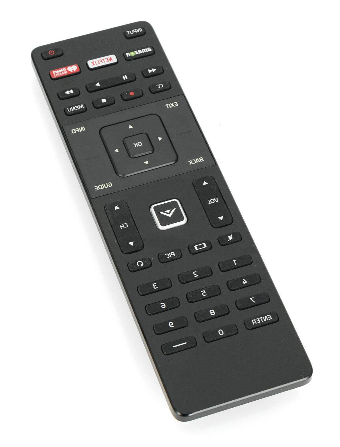 XRT122 Smart Vizio Remote w Amazon Netflix APP