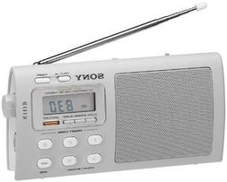 Sony Liv Portable 4-Band TV/Weather/FM/AM Clutch Radio ICF-M