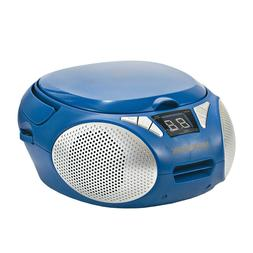 Magnavox MD6924-BL Portable Top Loading CD Boombox with AM/F