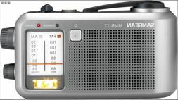 Sangean MMR-77 Portable Crank Radio AM/FM Multi-Powered Emer