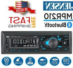 JENSEN MPR319 Car Stereo Receiver Single DIN Bluetooth MP3 U