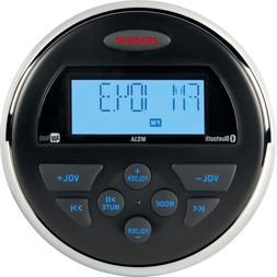 "Jensen MS3ARTL AM/FM/USB/Bluetooth Compact 3.5"" Round Waterp"
