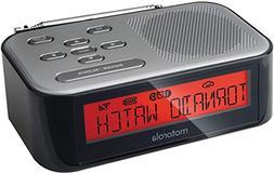 Motorola MWR822 - Desktop Weather Radio  SAME  AM/FM  Clock