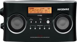 New Sangean AM/FM Digital Portable Radio Antenna Alarm Headp