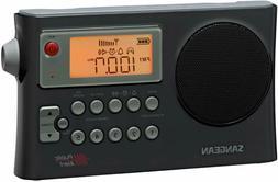 New Sangean AM/FM/WX NOAA Weather Alert Portable Radio Large