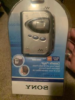 New Unopened Sony Stereo Radio Cassette Player Walkman WM-FX