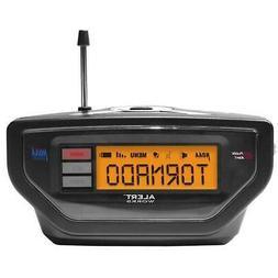 NIB ALERT WORKS Emergency WHITE Weather Radio EAR-10WH SAME