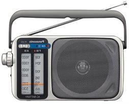 Panasonic RF-2400 AM / FM Radio, Silver/Grey