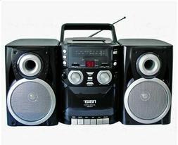 Naxa Portable CD Player Boombox with  AM/FM Stereo Radio & C