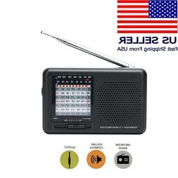 Portable FM AM SW Pocket Radio