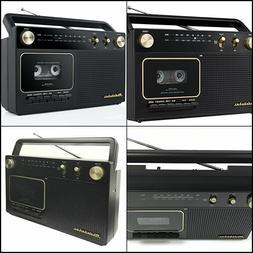 Studebaker Portable Retro Home Audio Stereo AM/FM Radio & Ca