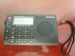 Portable Shortwave Radio Skywave AM FM Weather Airband Trave