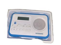 Sangean PR-D18 Blue AM/FM Digital Receiver Radio w/ Protecti