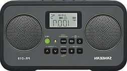 Sangean PR-D19 Clock Radio - 1.4 W RMS - 2 x Alarm - FM, AM