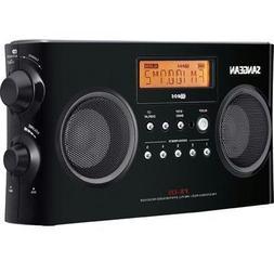 Sangean Pr-d5-bk Digital Portable Stereo Receiver With Am/fm
