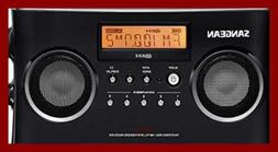 PR D5BK AM/FM Portable Radio W Digital Tuning & RDS BLACK N/
