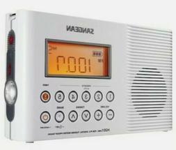 SANGEAN H201 Sangean Portable Water-Resistant Radio