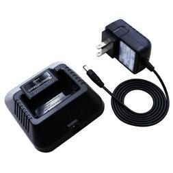 Radios Battery Desktop Charger Station Dock For Baofeng UV5R