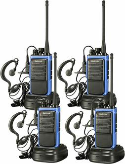 4 Pack Arcshell Rechargeable Long Range 2-Way Radios with Ea