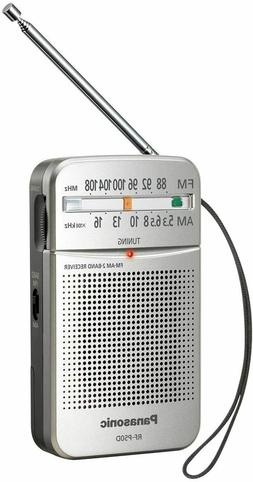 rf p50d am fm pocket radio