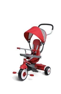 Rodio Flyer 4 In 1 Stroll N Trike Red