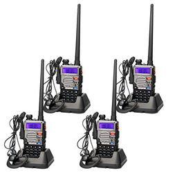 Retevis RT-5RV Two Way Radio 128CH VHF/UHF Dual Band 2 Way r