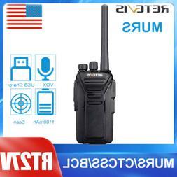 Retevis RT27V MURS Walkie Talkie two Way Radio VHF 5CH VOX H