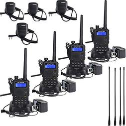 Retevis RT5 Walkie Talkies Dual Band VHF/UHF Radio Scan VOX