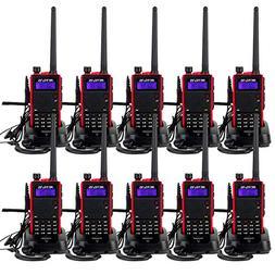 Retevis RT5 Two-Way Radio Long Range 7W Dual Band VHF/UHF 12