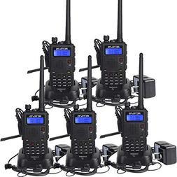 Retevis RT5 Two Way Radios 7W 128 CH 2 Way Radios VHF/UHF Ra