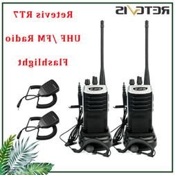 Walkie Talkies Retevis RT7 two Way Radio Scan UHF 16CH CTCSS