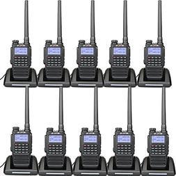 Retevis RT87 Waterproof Walkie Talkie Long Range VHF UHF IP6