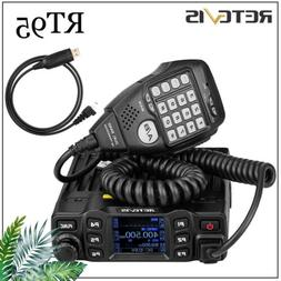 Retevis RT95 Dual Band Transceivers 25W Mobile Car Radio DTM