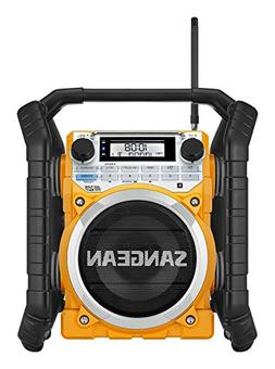 Sangean Portable Bluetooth Water Resistant Ultra Rugged AM/F