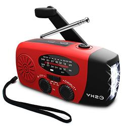 Esky  Portable Emergency Weather Radio Hand Crank Self Power