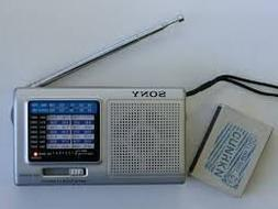 Sony icf-sw200 AM/FM and 7 Channels SW radio