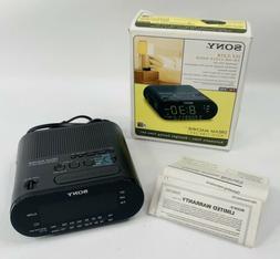 Sony ICFC218 Clock Radio - LED Alarm - FM