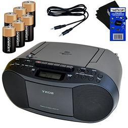 Sony MP3 Format CD, AM/FM Radio, Cassette Recorder Boombox w
