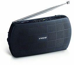 SONY Stereo Portable Radio SRF-18/B Black