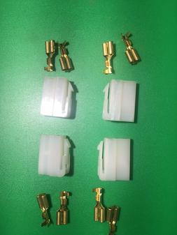 T-Connector Female DC Connector 2-PIN T-type for Radios Kenw