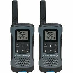 Motorola T200 Walkie Talkies 2 way Radios 22 Channels Up To