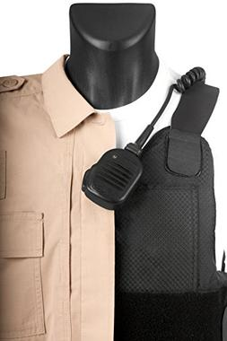 Tactical Mic Leash - Keeps Lapel Mic In Place For Police / L