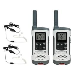 Motorola Talkabout T260 Two-Way Radio, 25 Miles, 2 Radios +