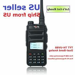 TYT TH-UV88 Talkie Walkie VHF/UHF Dual Band Analog Two-Way R