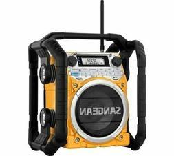 Sangean U4 AM/FM-RBDS/Weather Alert/Bluetooth/Aux-in Ultra R
