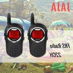 US JAJA Mini Walkie Talkies Alarm Clock Toys Girls Boys 22CH